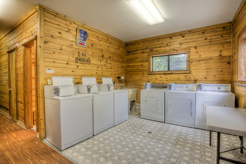 Crescent Junction Laundry Room